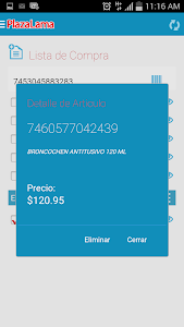 Lista de Compras Plaza Lama screenshot 6