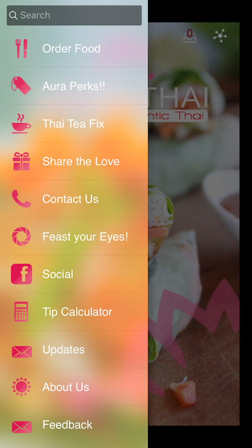 Aura Thai- screenshot