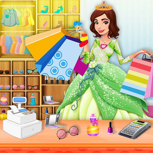 Shopping Mall Rich Shopaholic Girl:Color by Number Icon