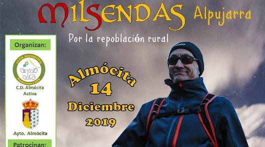 """Almócita acoge una travesía de resistencia """"por la repoblación rural"""""""