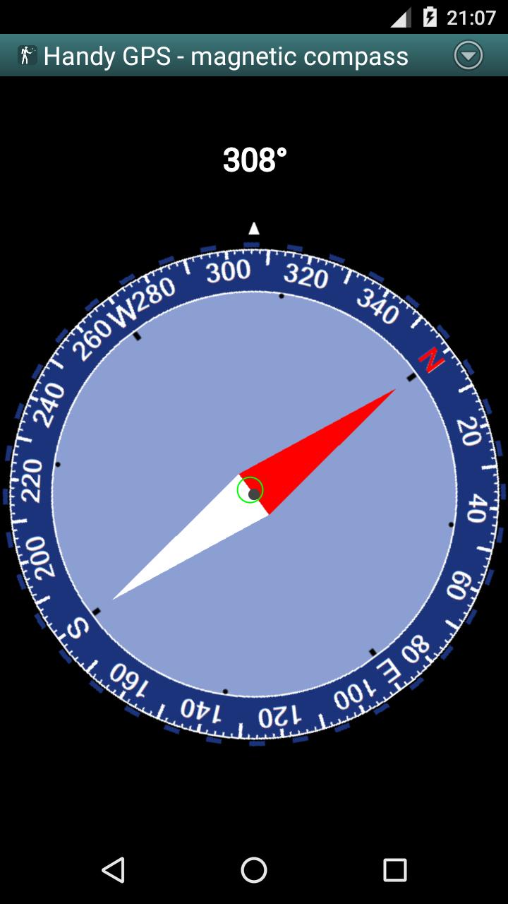 Handy GPS Screenshot 3