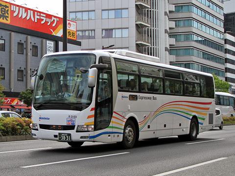 西鉄「ふくふく天神号」 3151(HARMONY)