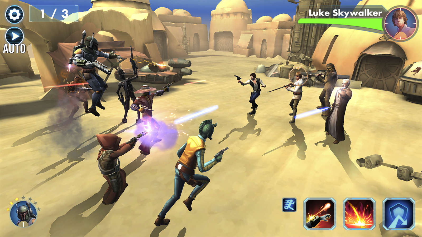 Screenshots of Star Wars™: Galaxy of Heroes for iPhone