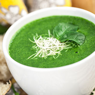 Velvety Spinach Soup