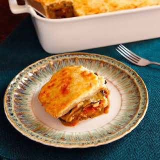 Vegetable Moussaka.