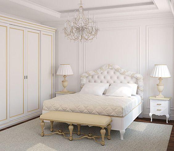 Creamy Princess Bedroom