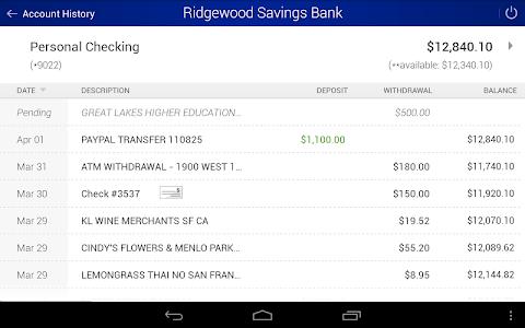 Ridgewood Savings Bank screenshot 6