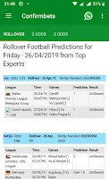 Football Predictions by Experts - Confirmbets - Free Android app
