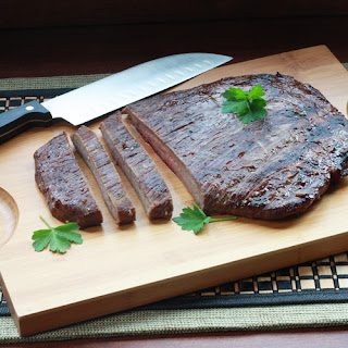 Grilled Korean-Style Flank Steak.