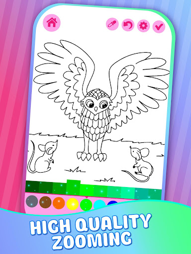Educative Animated Shining Kids Coloring Book screenshots 5