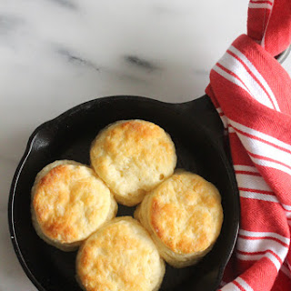 Quick & Easy Buttermilk Biscuits.