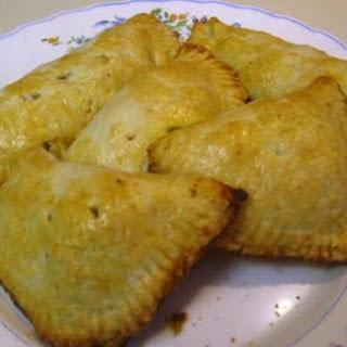 Filipino Chicken Empanada/ Chicken Puffs.