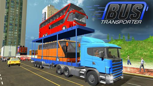 Bus Transporter Truck 2017 - City Bus Simulator 1.7 screenshots 1