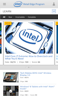 Intel® Retail Edge Program- screenshot thumbnail