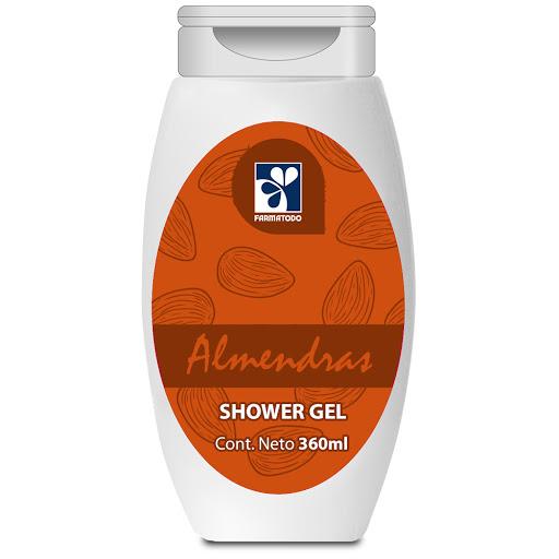 Shower Gel Farmatodo Almendra 360Ml