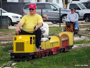 Photo: Craig Thomasson with himself at the controls.     HALS Chili Fest Meet 2014-0301 RPW