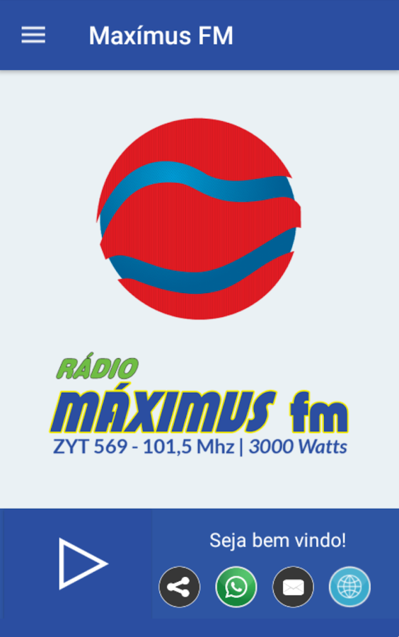 Radio Máximus FM- screenshot