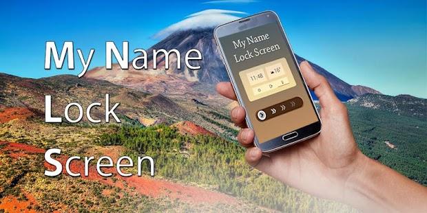 Free Name Lock Screen Passcode APK