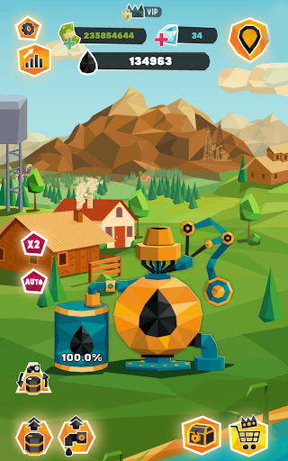 Idle Oil Tycoon: Gas Factory Simulator 3.5.7 screenshots 11