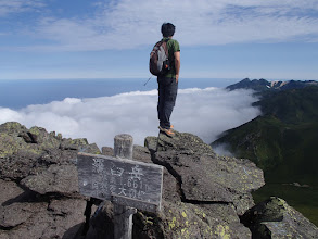 Photo: 知床連山を望む