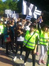 """Photo: """"Marsz zebry"""""""