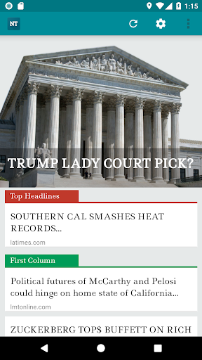 News Today- An app to read Drudge Report Bulletins by lmnapps