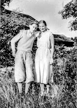 Photo: Aunt Ann Osmundsen and her brother