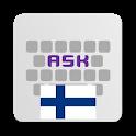 Finnish for AnySoftKeyboard icon