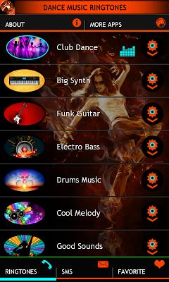 Dance Music Ringtones - screenshot