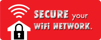 Photo: You lock your home and car. How about your WiFi? Make sure to password protect your home WiFi network so others can't access it. Securing your WiFi is an easy way to make sure that stuff you want locked down stays locked down. http://g.co/mra2 #staysafe