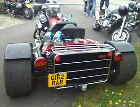 Photo: Nice clean finishing - if you needed a trike to say 'Cadillac', then this one does it well..