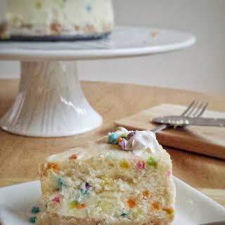 Funfetti Cheesecake.