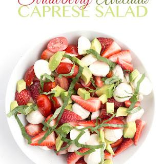 Strawberry Avocado Caprese Salad Recipe