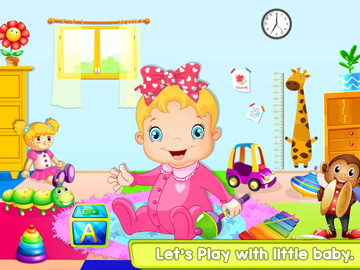 Nursery Baby Care - Taking Care of Baby Game apktram screenshots 14