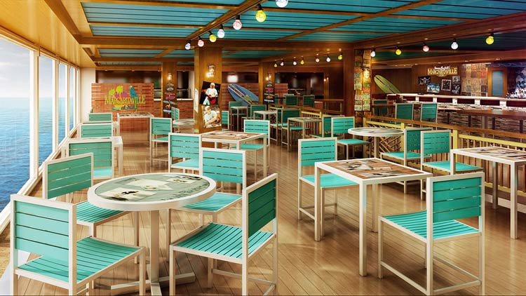 Margaritaville at Sea on Norwegian Escape: New hotspot