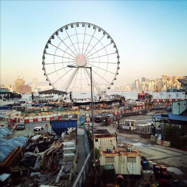 Hong Kong, Observation, Ferris, Wheel,  香港, 摩天輪, central