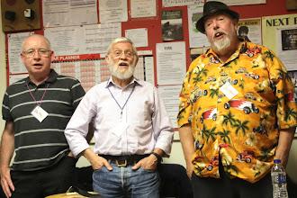 Photo: Tom, Clive and Derek