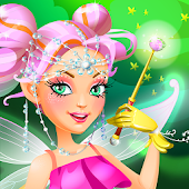 Flower Fairy Dress Up Game