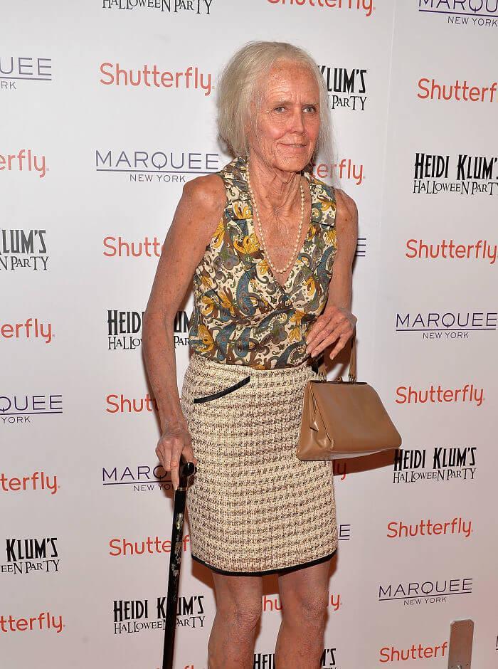 Heidi Klum Looks Into The Future As An Old Woman