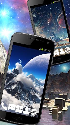 Cosmos HDR Theme GO ADW APEX