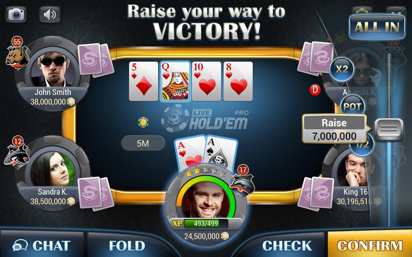 Live Hold'em Pro - Poker- screenshot