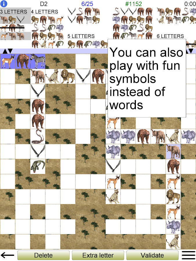Word Fit Puzzle- screenshot