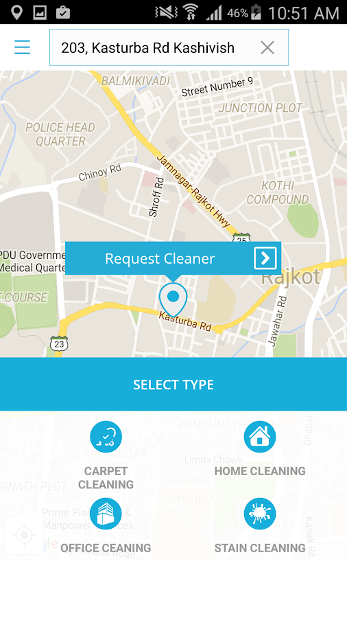 Cleaner on demand- screenshot