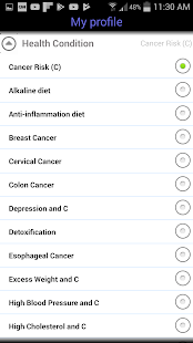 Cancer Prevention- screenshot thumbnail