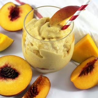 Mango Peach Smoothie.