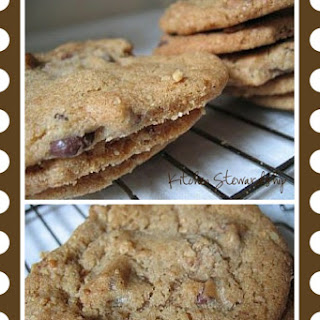 100% Whole Wheat Chocolate Chip Cookies