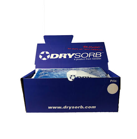 "Drysorb® Home - 10-Pack a 450 gr ""Nya Black Edition ( inkl tråg)"