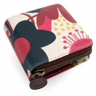 Wild Floral Card / Coin Wallet
