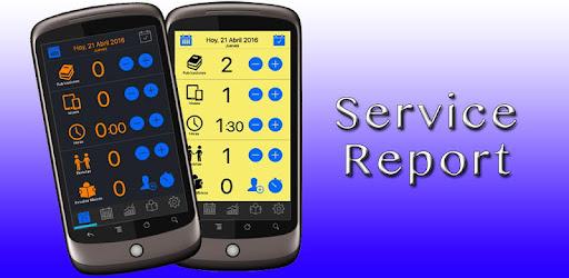 Service Report 2018 captures d'écran
