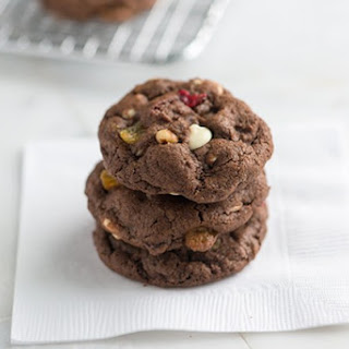 Fruit and Nut Chocolate Cookies